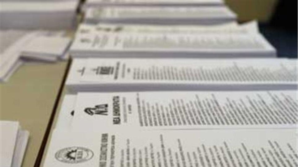 «Παρατράγουδα» με ψηφοδέλτια ΣΥΡΙΖΑ και Καμμένου