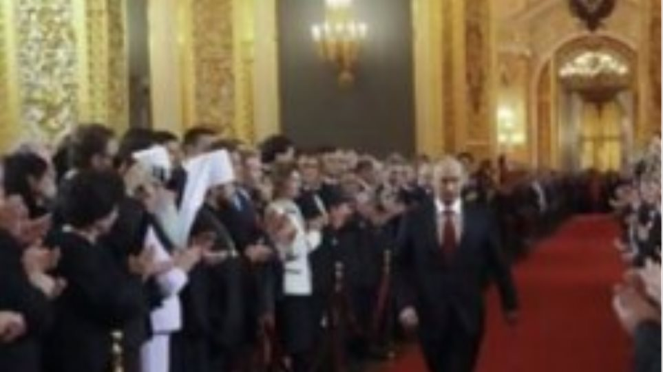 Τουλάχιστον 300 συλλήψεις στην ορκωμοσία του Πούτιν