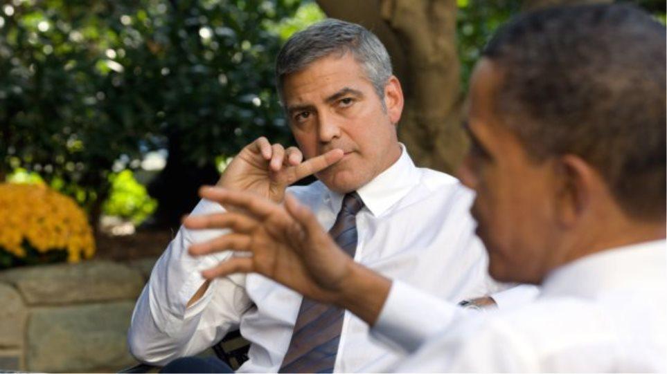 Μπαράκ Ομπάμα VS Τζορτζ Κλούνεϊ και...Spiderman