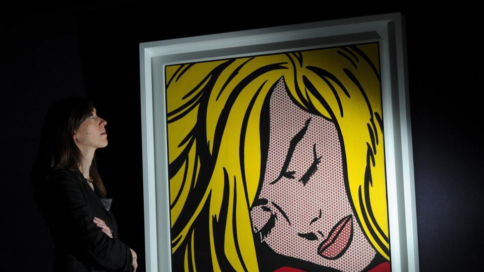 """45 εκατομμύρια δολάρια για την """"Ωραία Κοιμωμένη"""" του Ροι Λιχτενστάιν"""