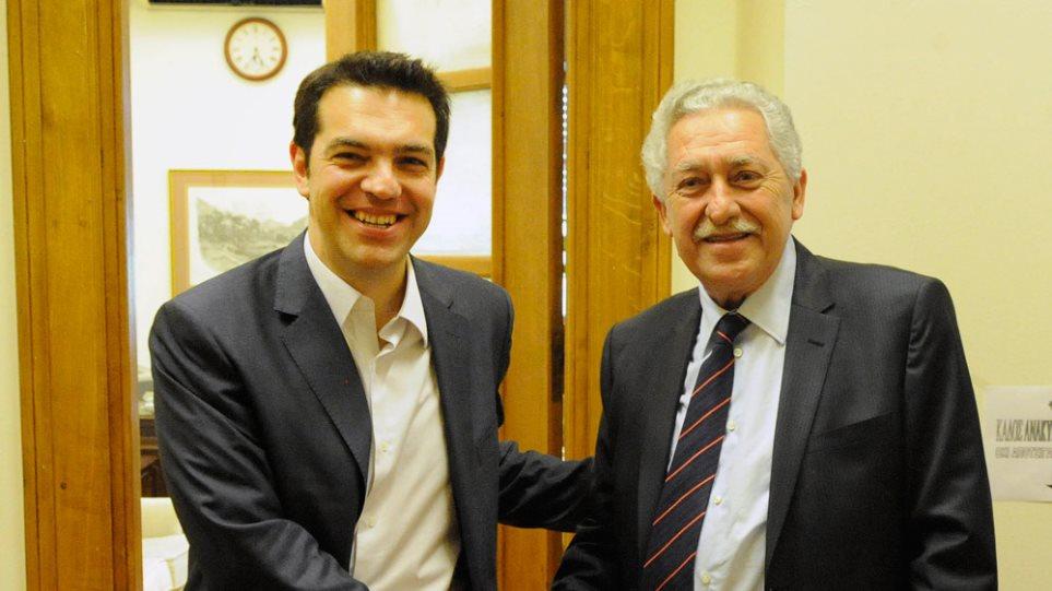 Κουβέλης: «Δεν γίνεται κυβέρνηση χωρίς το ΣΥΡΙΖΑ»