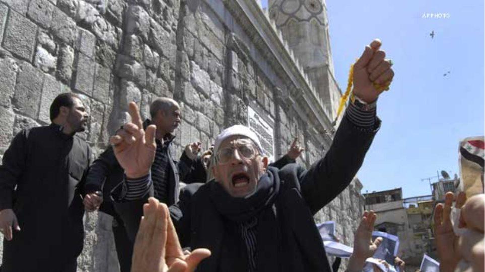 Η Δαμασκός κατηγορεί ΗΠΑ και Δύση