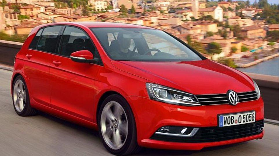 Αποκάλυψη: Το ταμπλό του νέου VW Golf  (upd)