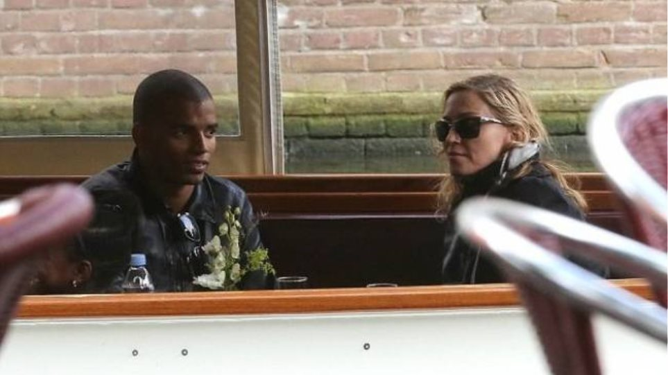 Η Madonna στο Άμστερνταμ
