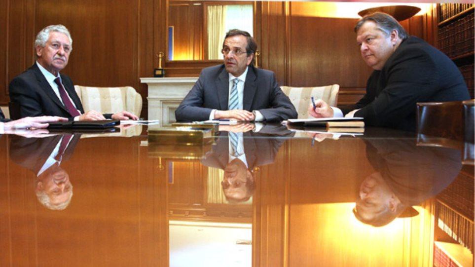 Τί συμφώνησαν οι τρεις πολιτικοί αρχηγοί
