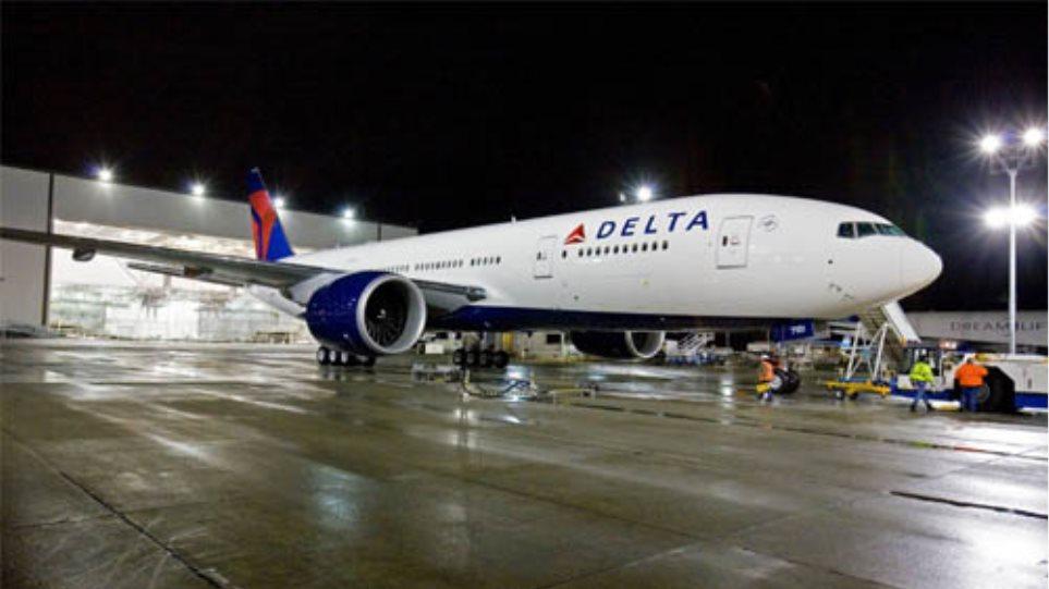 Συναγερμός σε επιβατικό αεροσκάφος της Delta Airlines
