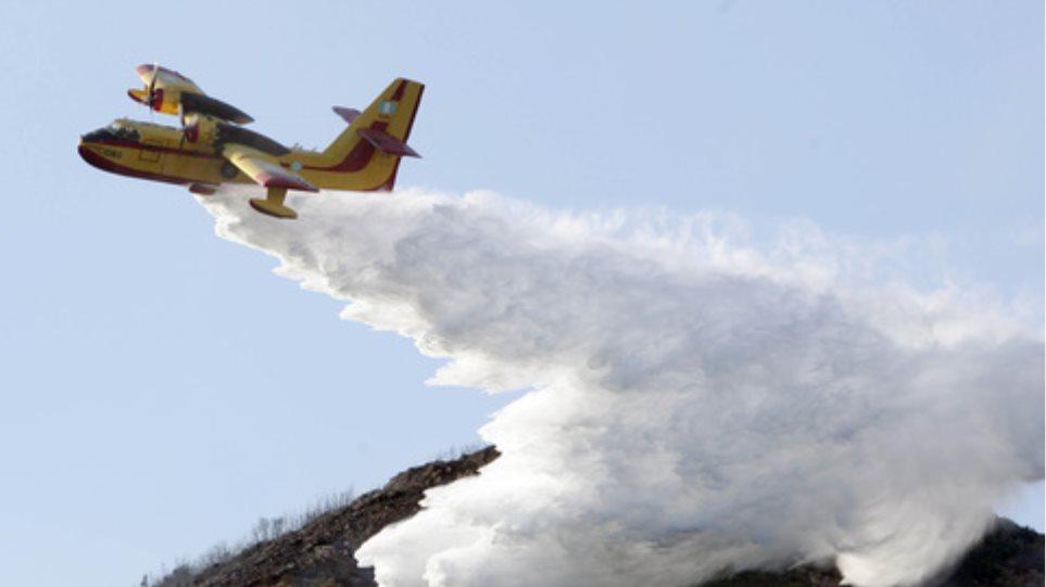 Πυροσβεστικά αεροπλάνα διαθέτουν τα Σκόπια για την Ελλάδα