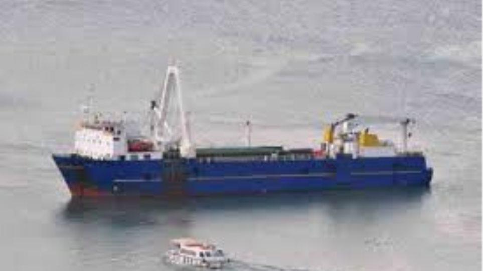 Προσάραξη φορτηγού πλοίου νοτιανατολικά των Λειψών