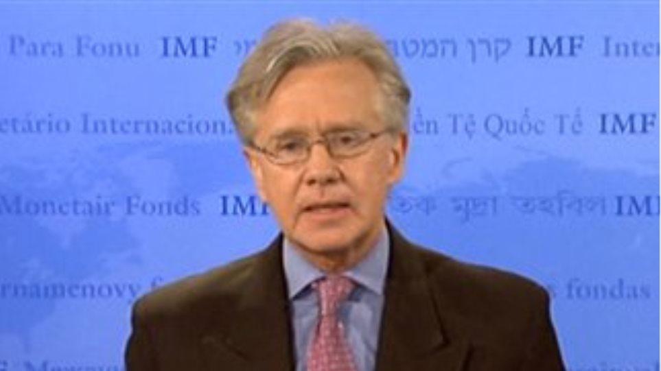 Τζέρι Ράις: «Το ΔΝΤ είναι ανοιχτό σε συζητήσεις με την ελληνική πλευρά»