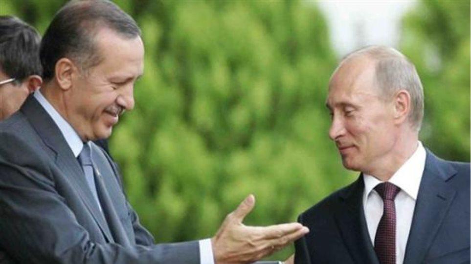Κρίσιμη συνάντηση Ερντογάν - Πούτιν για τη Συρία