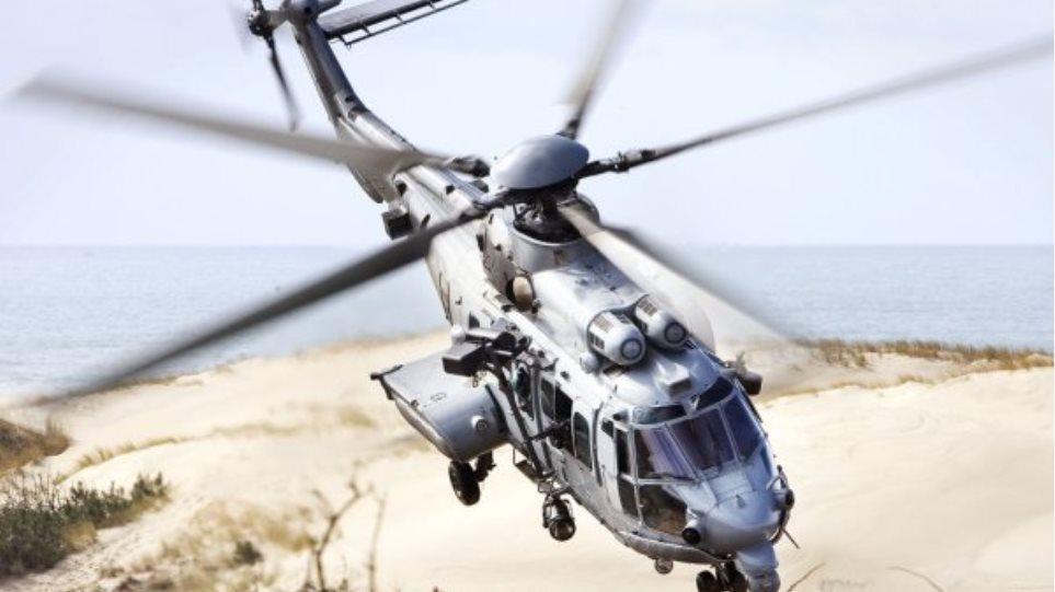 Αεροδιακομιδή 19χρονης τραυματία με «Super Puma»