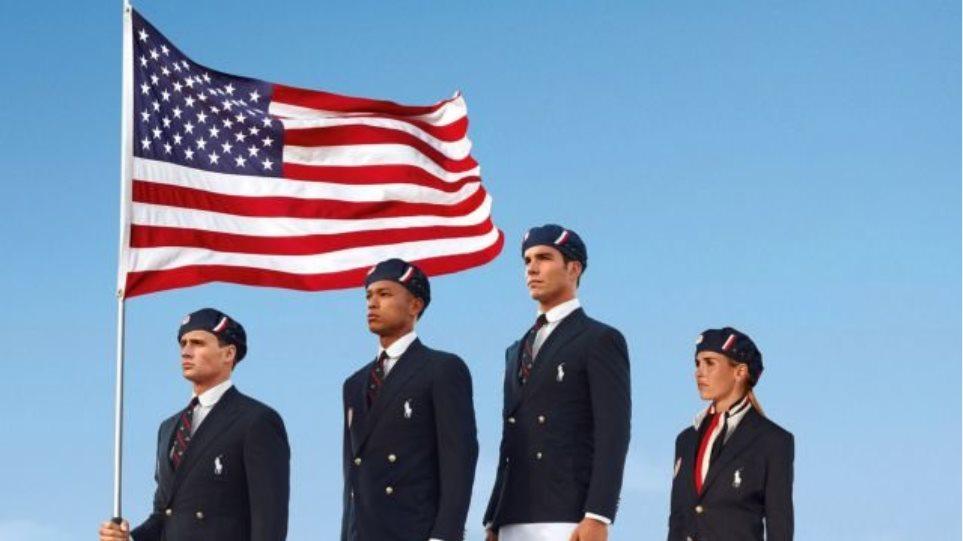 «Μade in China» οι στολές της Ολυμπιακής Ομάδας των ΗΠΑ