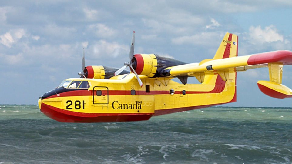 Πολεμική Αεροπορία: Επιχειρησιακά τα 16 από τα 21 Canadair