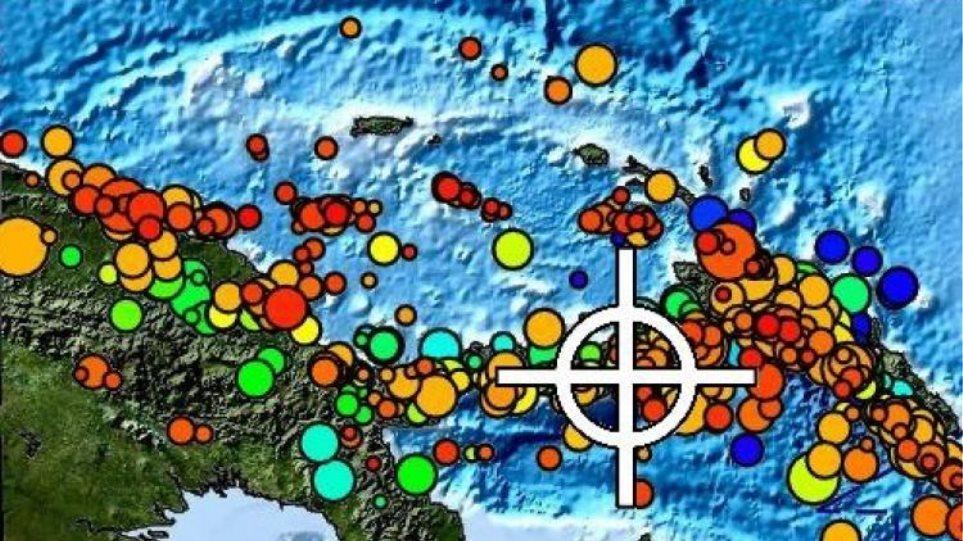 Σεισμός 6,6 Ρίχτερ ανοιχτά της Παπούας - Νέας Γουινέας