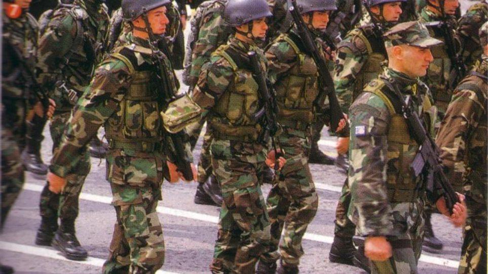 Χρυσή Αυγή: «Φούσκα» η εξαγγελία περί αύξησης της στρατιωτικής θητείας