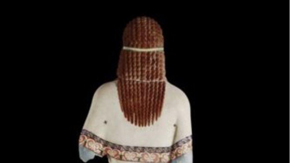Και «έγχρωμα» τα αγάλματα στο Μουσείο της Ακρόπολης