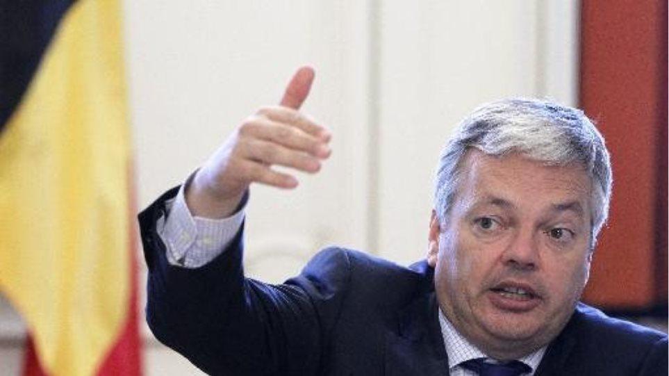 «Οικονομική κηδεμονία» εισηγείται για την Ελλάδα ο Βέλγος ΥΠΕΞ