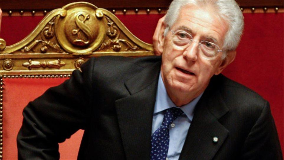 Μόντι: Η Ιταλία δεν χρειάζεται διάσωση