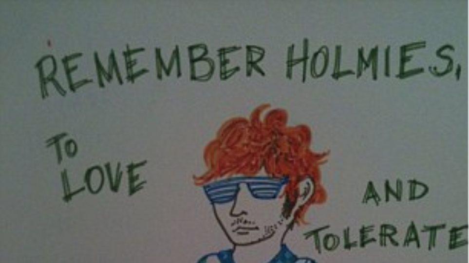 Ο Τζέιμς Χολμς γίνεται είδωλο για έφηβους Αμερικανούς