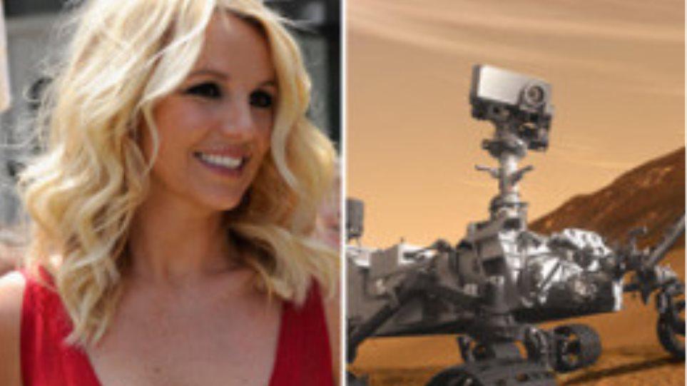 H Britney Spears καλεί... ΄Αρη