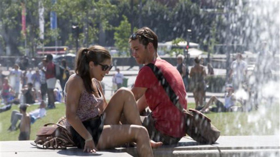 Κύμα καύσωνα στη Γαλλία