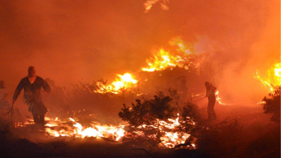 Βιβλική καταστροφή στην Χίο
