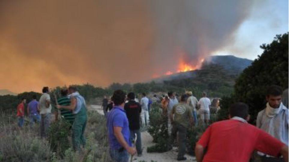 Μέτρα για τους πυρόπληκτους στη Χίο ζητά ο ΣΥΡΙΖΑ