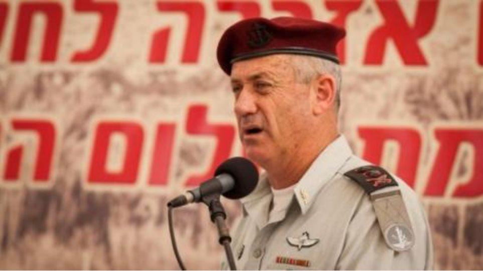 Προειδοποίηση του ισραηλινού στρατηγού Γκαντς προς το Ιράν