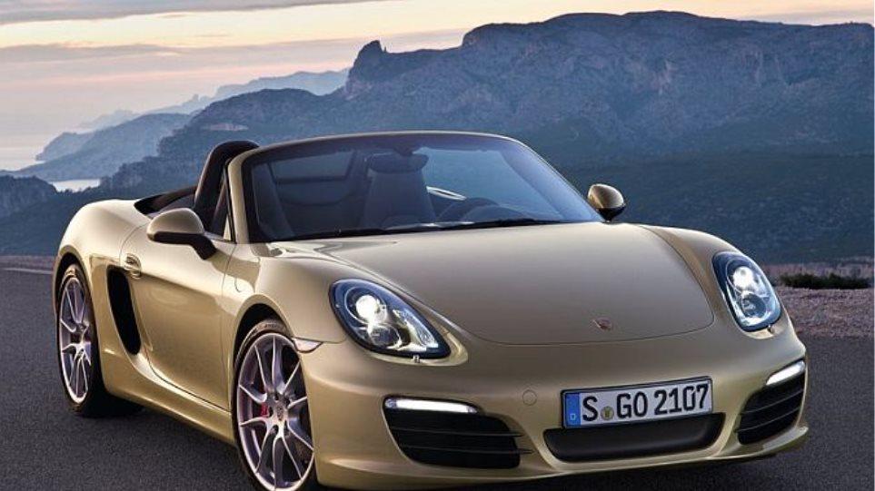 Βρετανική γκάφα με την Porsche Boxster