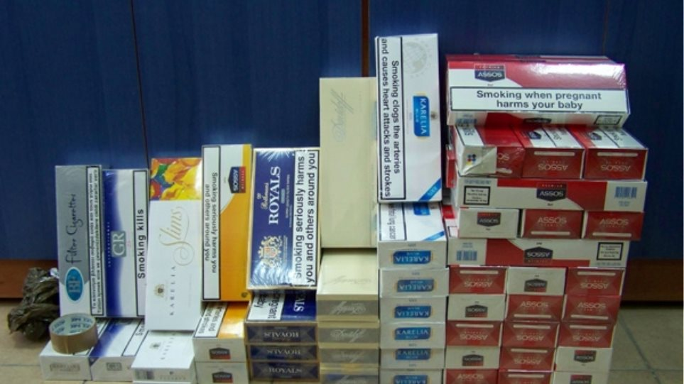 Στα «δίχτυα» του ΣΔΟΕ μεγάλη ποσότητα λαθραίων τσιγάρων