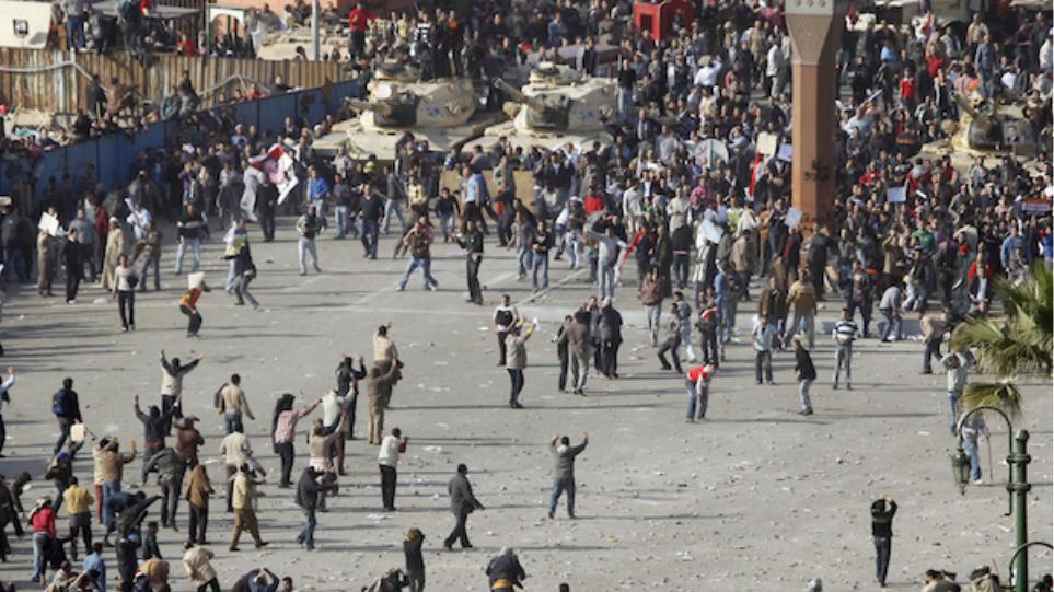 Διαδήλωση στο Κάιρο κατά της κυβέρνησης