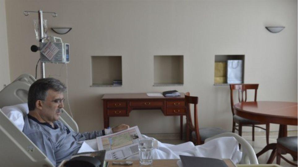 Εξιτήριο από το νοσοκομείο για τον Γκιούλ