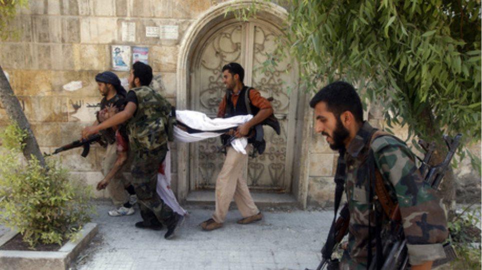 Τουλάχιστον 18 σοροί βρέθηκαν σήμερα στη Δαμασκό