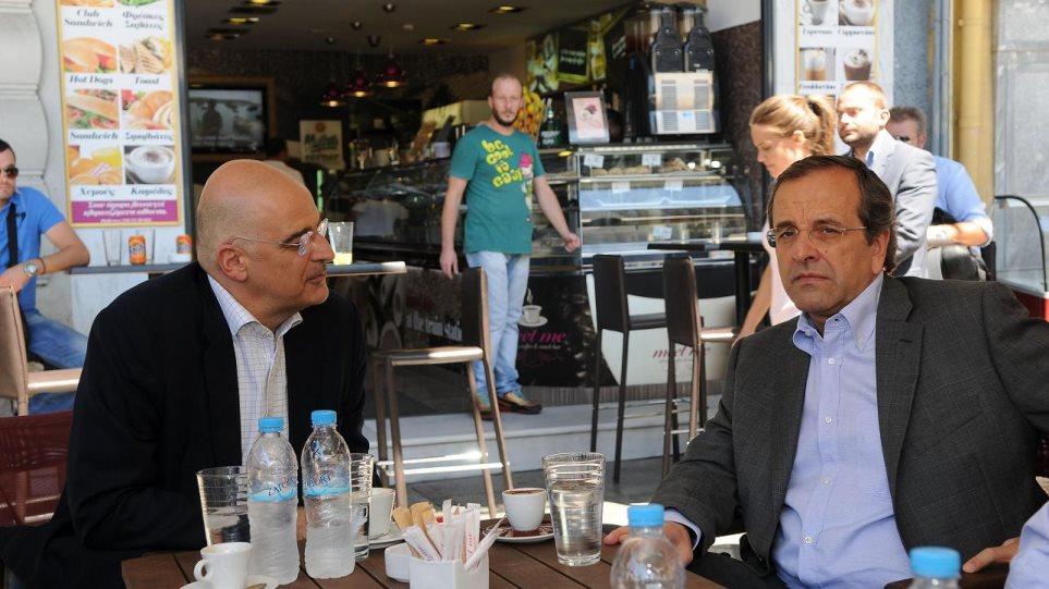 Αιφνιδιαστική επίσκεψη του πρωθυπουργού στην Ομόνοια
