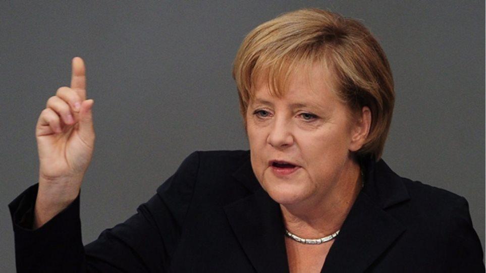 A. Μέρκελ: Η Ελλάδα να κάνει τα μαθήματά της