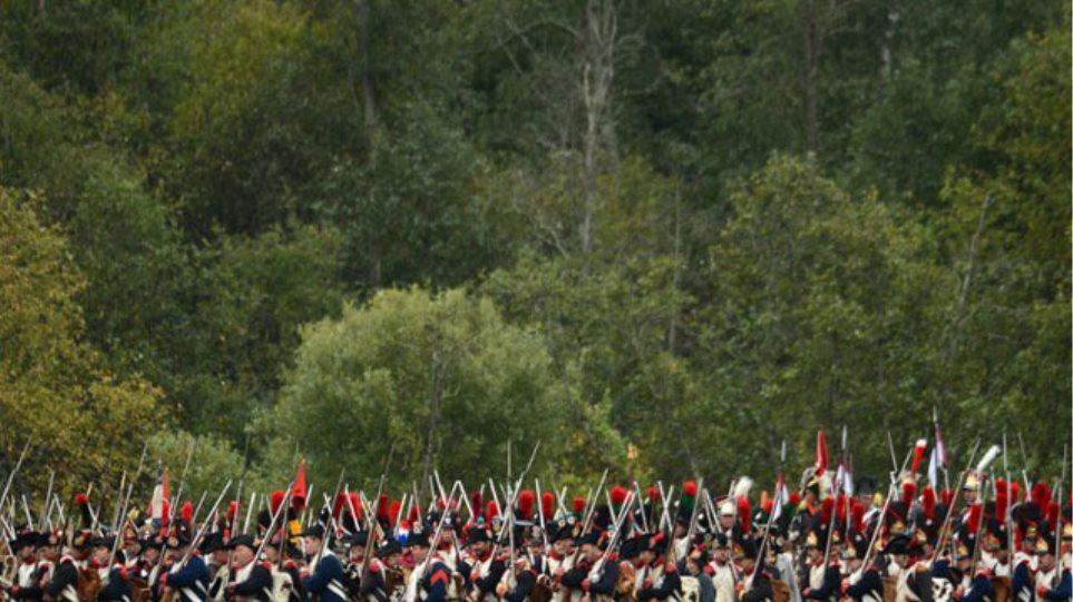 Εντυπωσιακό βίντεο της αναπαράστασης της μάχης του Μποροντινό