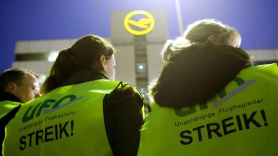 Συνεχίζουν τις απεργίες στη Lufthansa