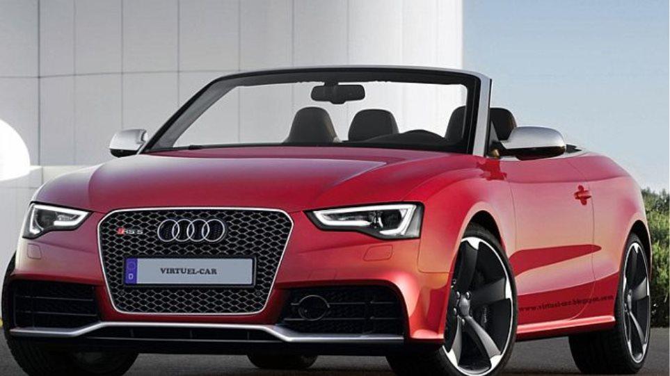 Αντίστροφη μέτρηση για το Audi RS 5 Cabriolet