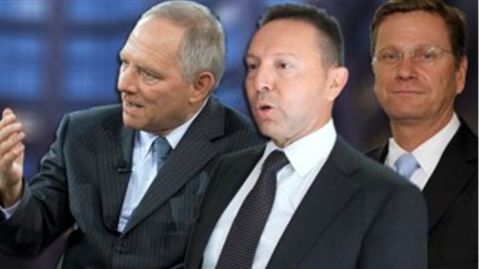 Stournaras' crucial meetings with Schäuble and Westerwelle