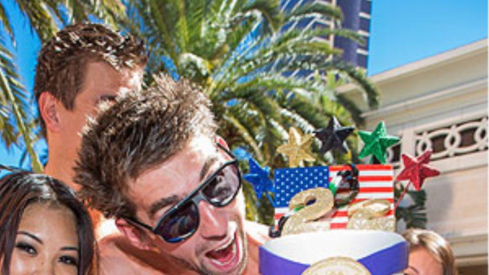 Μάικλ Φελπς: Γιόρτασε την αποχώρησή του με πάρτι σε πισίνα