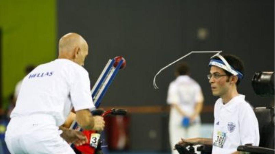 Χρυσό μετάλλιο κατέκτησε η Ελλάδα στο μπότσια!