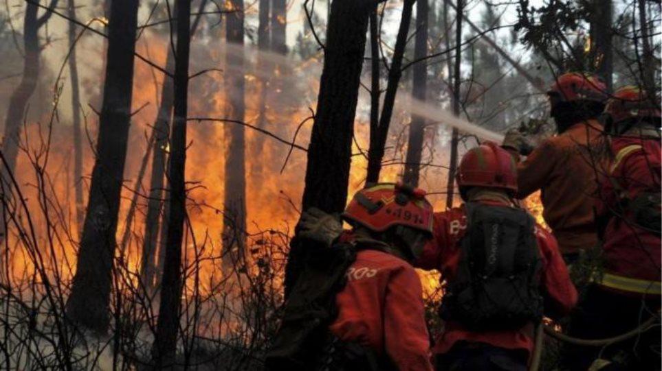 Η Πορτογαλία ζητά ευρωπαϊκή βοήθεια για τις πυρκαγιές