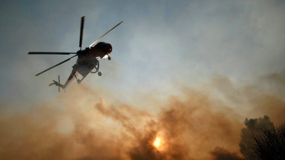 Πυρκαγιά στην περιοχή Σκορτσινού Αρκαδίας