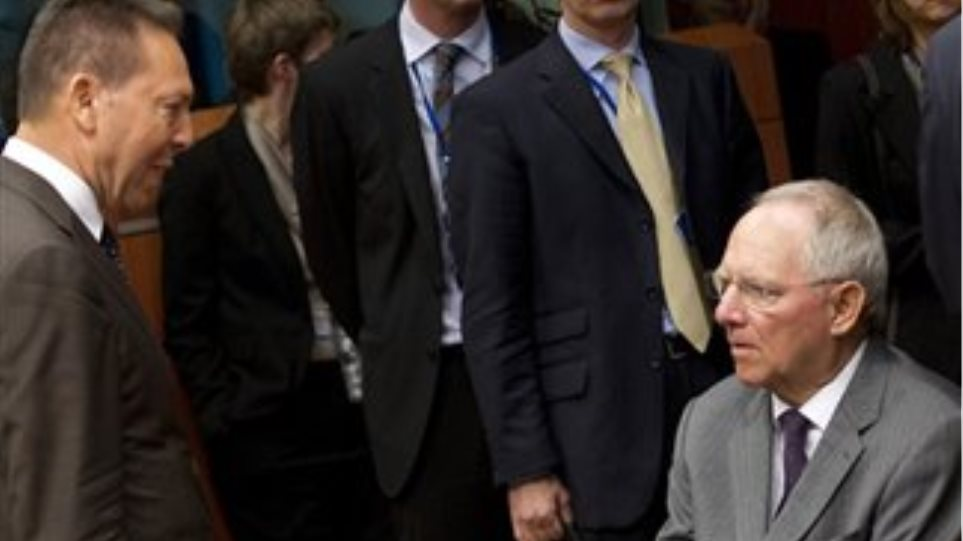 Schäuble's vote of confidence to Greece