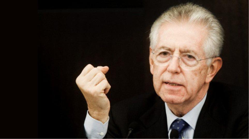 «Η Ιταλία έχει ήδη αρχίσει να ανακάμπτει», λέει ο Μόντι
