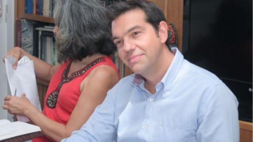 Ο Αλέξης Τσίπρας συναντά την Εθνική Συνομοσπονδία Ελληνικού Εμπορίου