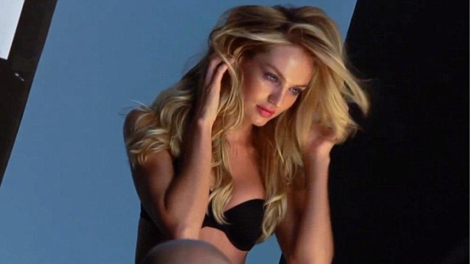 e2433178a99 Οδηγίες για φωτογράφηση με εσώρουχα δίνει η Candice Swanepoel