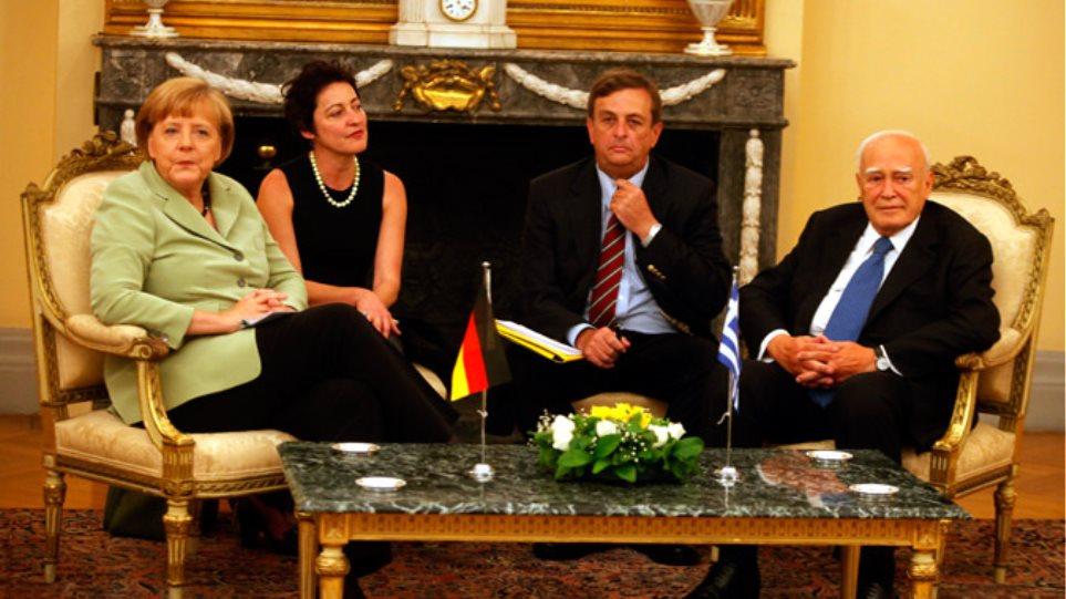Παπούλιας προς Μέρκελ: Ο ελληνικός λαός έχει εξαντλήσει την αντοχή του