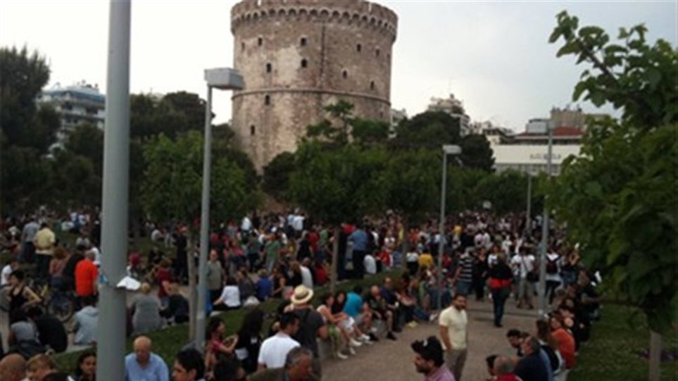 Με διαδηλώσεις υποδέχονται και οι Θεσσαλονικείς τη Μέρκελ