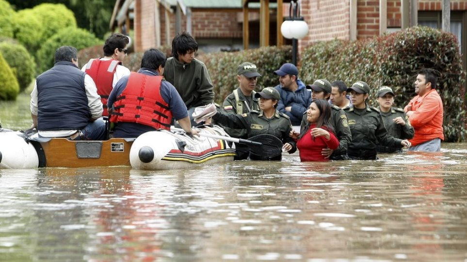 Κολομβία: Φονική πλημμύρα με έξι νεκρούς